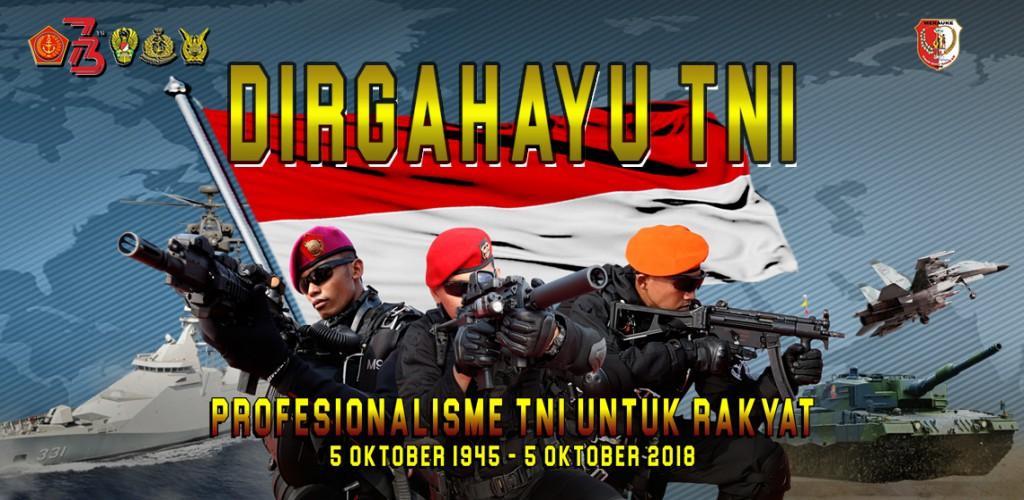 HUT TNI 73
